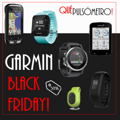 Descuentos de Garmin en Black Friday