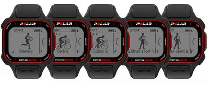 Polar RC3 GPS pulsómetro