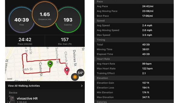 Reloj Vivoactive HR con GPS